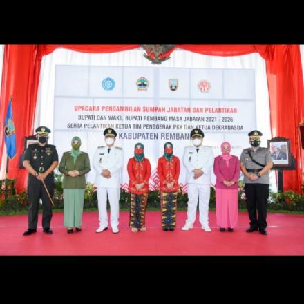 Pelantikan Bupati-Wakil Bupati Rembang 2021-2026